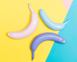 Painted bananas