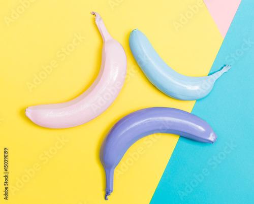 Painted bananas