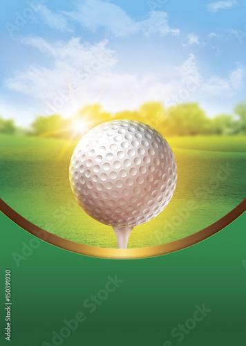 Deurstickers Golf Golf Tournament