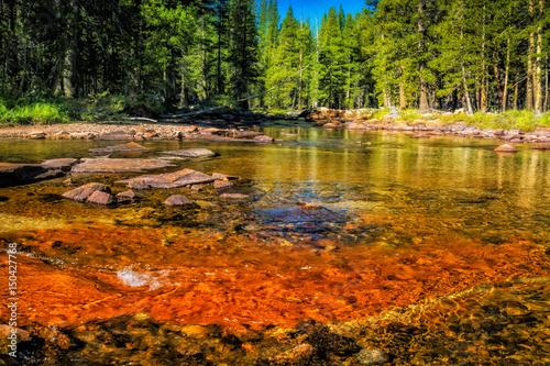 Fotografía The Tuolumne River runs through Yosemites Tuolumne Meadows