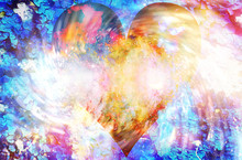 Heart In Cosmic Space, Color C...