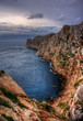 Cliff at the sea Cap Formentor