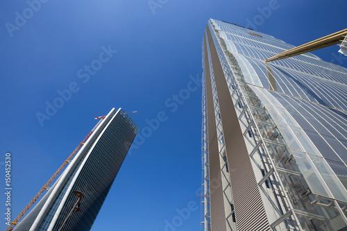 In de dag Milan MILAN, ITALY, MARCH 28, 2017 - Isozaki Tower in