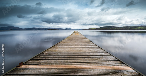 Valokuva  The Jetty at Loch Lomond