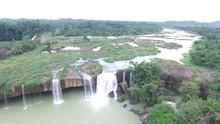 Dray Nur Waterfall In Dak Lak Province. Vietnam,