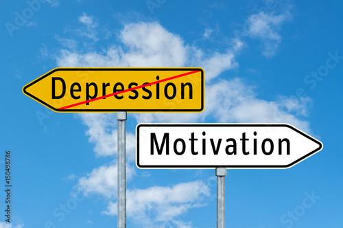 Depression überwinden Wallpaper Mural