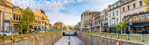 Fotografie, Obraz  WASHINGTON,USA/APRIL 14,2017: View on Connecticut Avenue from Dupont Curcle