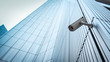 canvas print picture - Outdoor CCTV Security camera