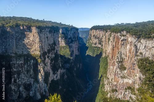 Fotografie, Obraz  Itaimbezinho Canyon at Aparados da Serra National Park - Cambara do Sul, Rio Gra