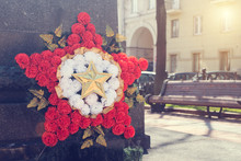 Wreath In The Form Of A Star F...