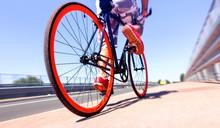 Man Cycling On Sport Bike - Bi...