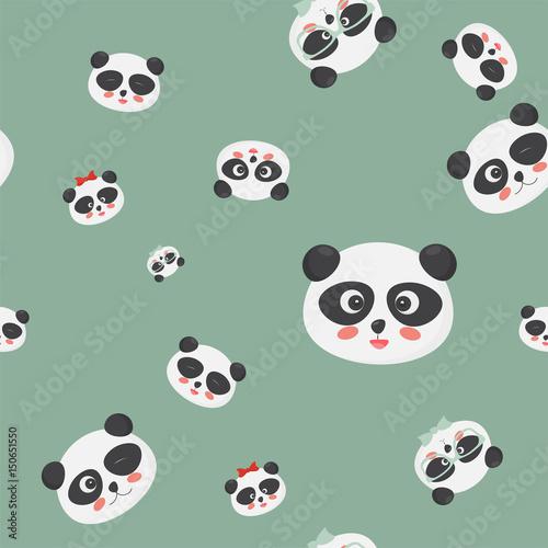 wektorowy-bezszwowy-wzor-panda-niedzwiedz-stawia-czolo-na-zielonym-tle-panda