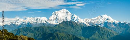 Dhaulagiri Range Panorama
