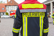 The German Fire Fighter Have A Exercise