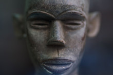 African Face Statuette