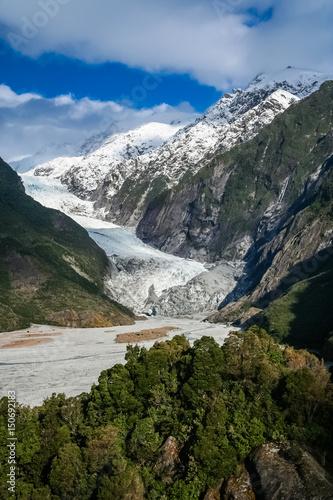 Foto op Aluminium Oceanië Franz Joseph glacier
