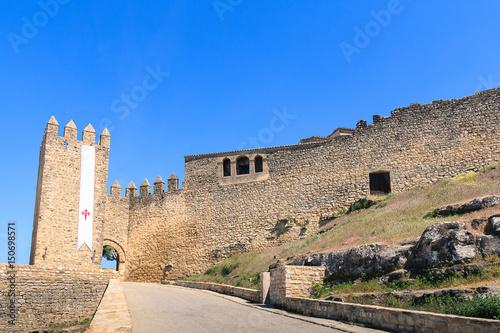 Monumento - Castillo de Sabiote en Jaén, España