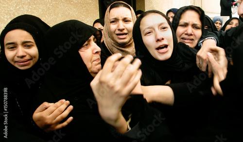 Relatives of Palestinian man killed by Israeli air strike