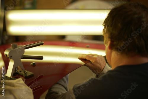 Fotografie, Obraz  Paintless Dent Removal