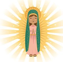 Holy Virgin Of Guadalupe Relig...