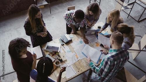 Fotografie, Obraz  Business meeting at modern office