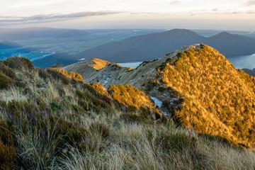 FototapetaMorning Southern Alps, Hokitika, New Zealand