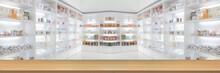 Panorama On Medicine Cabinet A...