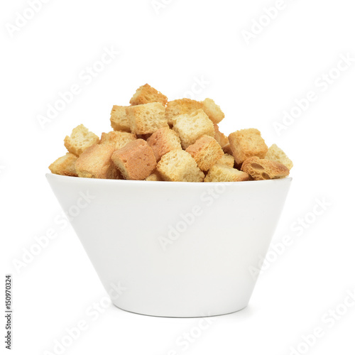 Fotografía  bowl with croutons