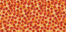 Pizza Pepperoni. Background.