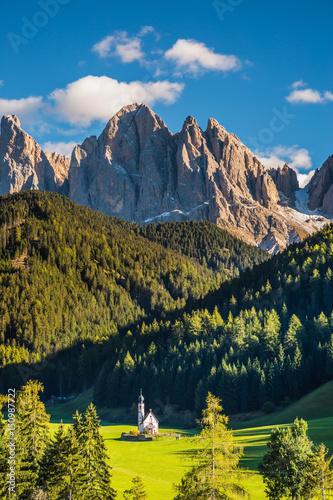 Fotografie, Tablou  Sunny day in Dolomites, Tirol