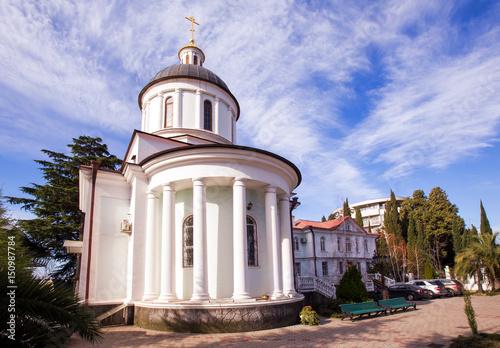 Baptismal Temple Iberian Mother of God. Sochi. Russia Tablou Canvas