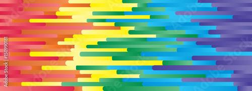 Valokuva  pride abstract