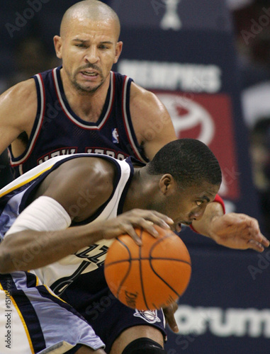 promo code 7b57e 74f4e New Jersey Nets' Kidd keeps pressure on Memphis Grizzlies ...