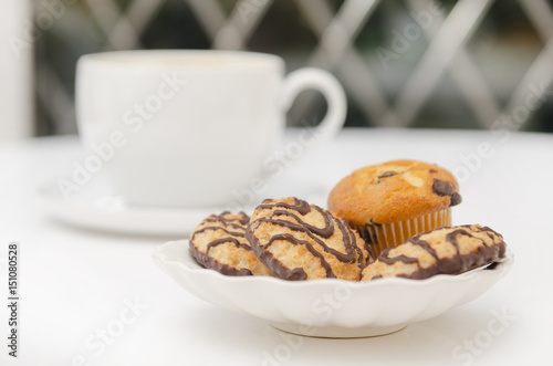 Photo  czekoladowe ciastka