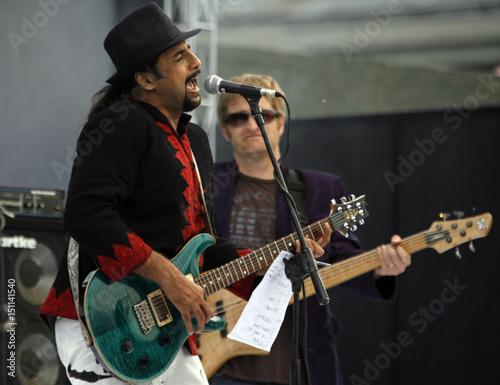 Pakistan's renowned rock band Junoon performs in Srinagar