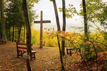 Fall Season Of Cross In Gods C...