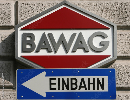 The Logo Of Bawag Psk Bank Is Pictured In Vienna Buy This Stock