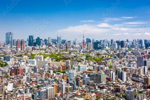 Plakat Tokio Skyline