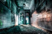 """Hallway In An Old """"Boys School"""""""