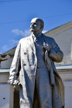 Monument To Vladimir Lenin In ...