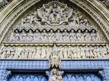 Westminster Abbey Detail, Lond...