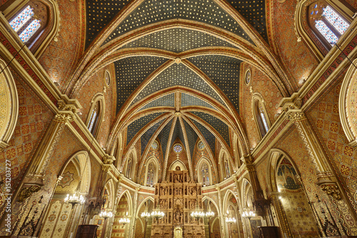 San Pedro church interior. Teruel highlight heritage. Spain tourism