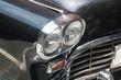 Antique Black car front lights