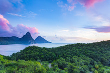Pitons From Jade Mountain Reso...