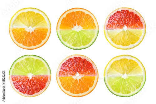 Citrus fruit Wallpaper Mural