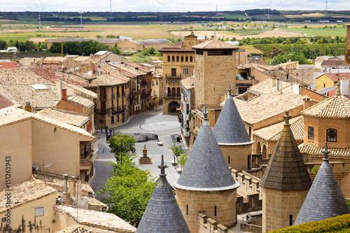 Olite, a historical village in Navarra Spain