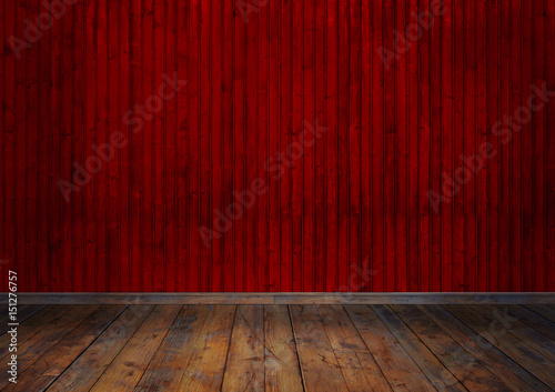 Papiers peints Rouge mauve Sahne, Renkli Odalar, Tiyatro