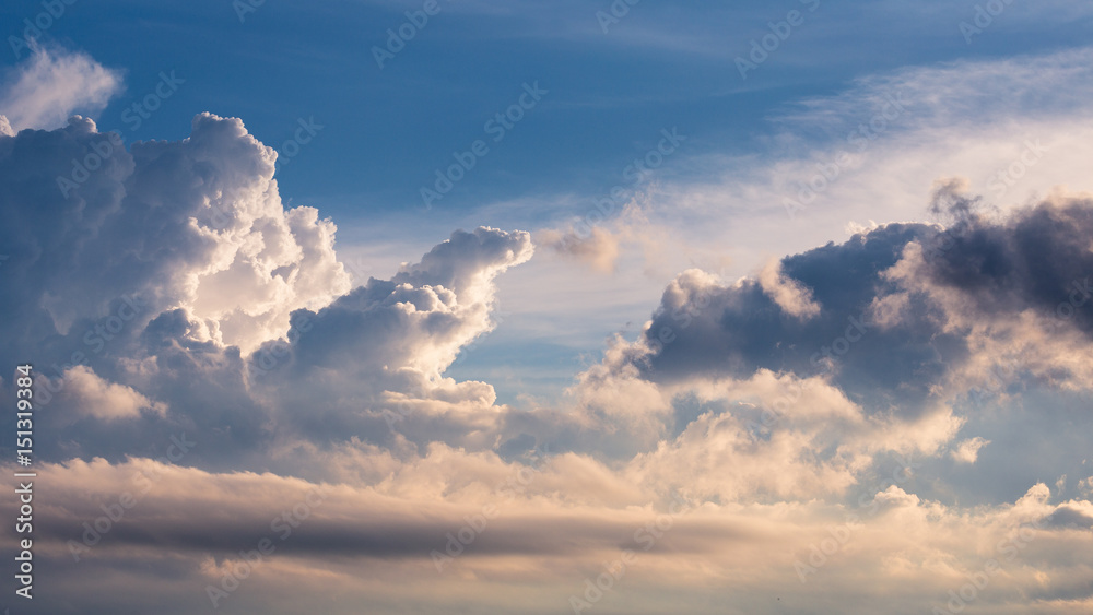 Fototapety, obrazy: Just clouds!