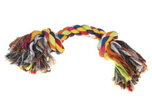 Colored  Woven Dog Rope Toy On...