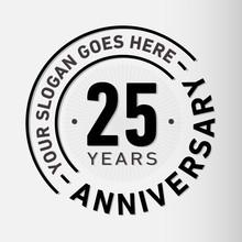 25 Years Anniversary Logo Temp...
